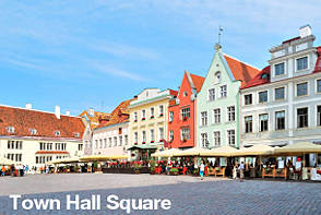 Tallinn Sightseeing - Town Hall Square