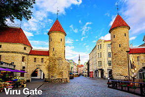 Tallinn Sightseeing - Viru Gate