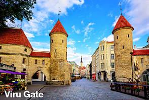 Tallinn Sightseeing - Viru Gate