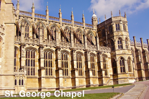 Windsor Sightseeing - St George Chapel