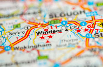 Navigatours Windsor - Tour Map